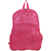 Eastsport® Mesh Backpack, 12 x 5 x 18, Pink