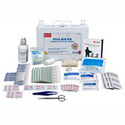 First Aid Only 224-U First Aid Kit for 25 People, 107 Pieces, OSHA Compliant, Metal Case