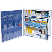 First Aid Only 247-OP Industrial First Aid Station for 100 People, 1041 Pieces, OSHA, Metal Case