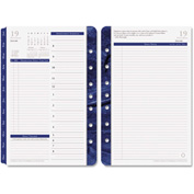 Franklin Covey® Monticello Dated Two-Page-per-Day Planner Refill, 5-1/2 x 8-1/2, 2017