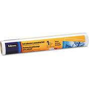"Fellowes® Self-Adhesive Laminating Roll, 3 mil, 16"" x 10 ft., Clear, Glossy Finish"