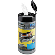 Fellowes® Laminating Roller Wipes, For Jupiter & Venus Laminators, 50/Canister