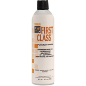 Franklin First Class Furniture Polish Lemon, 15.5oz Aerosol 12/Case - FKLF801015