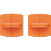 """Fiskars® Replacement Steel Blade Carriage for 12"""" Portable Trimmer, 2/Pack"""