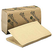 Acclaim 1-Fold Paper Towel, 10-1/4 x 9-1/4, Brown, 250/Pack, 16/Carton - GEP23504