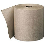 Envision High-Capacity Nonperforated Paper Towel Roll,7-7/8x800', Brown,6/Carton - GEP26301