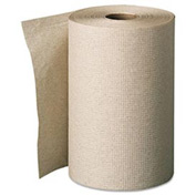 Envision Unperforated Paper Towel Rolls, 7-7/8 x 350', Brown, 12/Carton - GEP26401