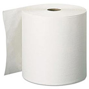 "Signature 2-Ply Premium High-Capacity Roll Towels, 7.87""x 600', White, 12/Carton - GEP28055"
