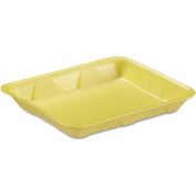 "Supermarket Trays 9-1/4"" x 7-1/4 Yellow - 500 Pack"