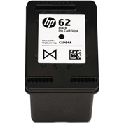 HP 62 Ink, 200 Page-Yield, Black