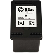 HP 62XL High-Yield Ink, 600 Page-Yield, Black