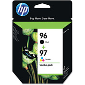 HP 96; HP 97 Tri-Color 2-pack Original Ink Cartridges