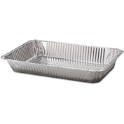 Handi-Foil® Steam Table Aluminum Pan, Full-Size, 20 3/4 x 12 3/4 x 3 1/8, 50/Carton