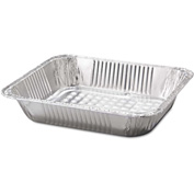 Handi-Foil® Steam Table Aluminum Pan, Half-Size, 12 3/4 x 10 3/8 x 2 3/5, 100/Carton