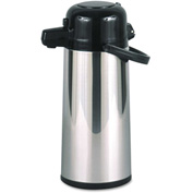 Hormel Commercial Grade 2.2 Liter Airpot, w/Push-Button Pump, Stainless Steel