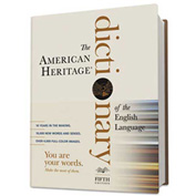 Houghton Mifflin American Heritage Dictionary of the English Language, 2,112 Pages