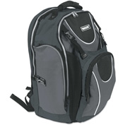 Vaultz® Locking Backpack, 15 x 7 x 19, Black