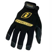 Ironclad IRNGUG03M General Utility Spandex Gloves, 1 Pair, Black, Medium