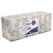 Kleenex® Facial Tissue, 2-Ply, Pop-Up Box, 3 Boxes/Pack, 12 Packs/Carton - KCC 21200