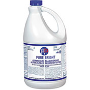 Pure Bright® Liquid Bleach, Gallon Bottle 6/Case - KIKBLEACH6
