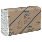 "Scott Recycled C-Fold Hand Towels,10-1/10"" X 13-1/5"", 12 Packs/Case - KIM02920"