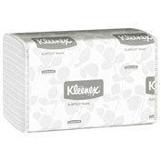 Kleenex® Slim Fold Hand Towels, White, 90/Pack, 24 Packs/Case - KIM04442