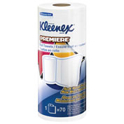 Kleenex Premiere Kitchen Roll Towels, White, 24 Rolls/Case - KIM13964