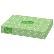 Surpass® Facial Tissue, Flat Box, 100/Box, 30 Boxes/Case - KIM21340