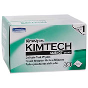 "Kimberly-Clark Kimtech Science Kimwipes Tissue, 4-2/5"" X 8-2/5"", 30 Boxes/Case - KIM34120"