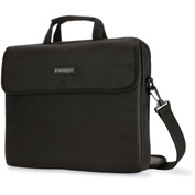 Kensington 62562 Laptop Sleeve, Padded Interior, Inside/Outside Pockets, Black