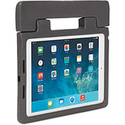 Kensington® Rugged Carry Case & Stand for iPad Air, Charcoal