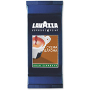 Lavazza Crema Aroma Arabica/Robusta Espresso Point Cartridges, .25 oz., 100/Box