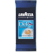 Lavazza 100% Arabica Blend Espresso Point Cartridges, Decaffeinated, 0.25 oz., 50/Box