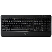 Logitech® LOG920002359 K800 Wireless Illuminated Keyboard, Unifying Receiver