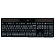 Logitech 920-002912 K750 Wireless Solar Keyboard, Black