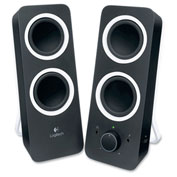 Logitech® Z200 Multimedia Speakers, Black