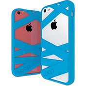 Loop Loop Mummy Case for iPhone 5C, Cyan