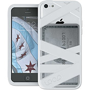 Loop Loop Mummy Case for iPhone 5C, White