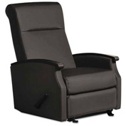 La-Z-Boy® Contract Florin Collection Room Saver Recliner, Black Vinyl