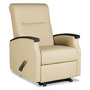 La-Z-Boy® Contract Florin Collection Room Saver Recliner, Taupe Vinyl