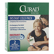 Curad CUR961R Instant Cold Pack, 2/Box