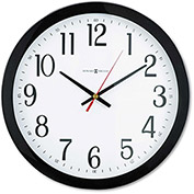 "Howard Miller® Gallery Wall Clock, 16"", Black"