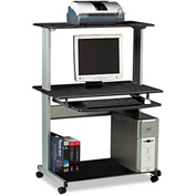 "Mayline 8350MRANT Eastwinds Multimedia Workstation, 36-3/4""W x 21-1/4""D x 50""H, Anthracite"