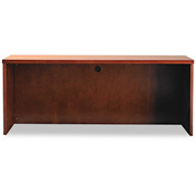 "Mayline MCR2472MC Mira Series Wood Veneer Credenza, 72""W x 24""D x 29-1/2""H, Medium Cherry"