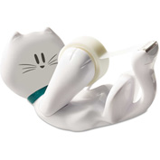 """Scotch® Kitty Tape Dispenser, 1"""" Core for 1/2"""" and 3/4"""" Tapes"""