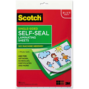 Scotch® Self-Sealing Laminating Sheets, 6.0 mil, 8 1/2 x 11, 10/Pack