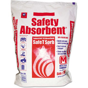 Safe T Sorb™ All-Purpose Clay Absorbent, 50 lbs., Poly-Bag, 40 Bags