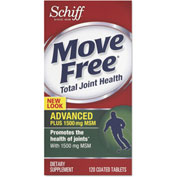 Move Free® Advanced Plus MSM Total Joint Health Tablet, 120 Count