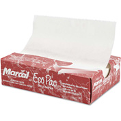 "Marcal® Eco-Pac Natural Interfolded Dry Wax Paper, 8"" x 10.75"", 500 Sheets/Box"