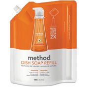 Method® Dish Pump Refill Clementine, 36oz Pouch 1/Case - MTH01165